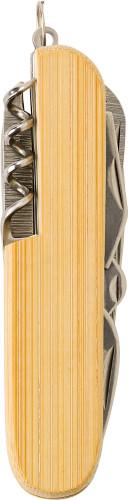 Bamboo pocket knife