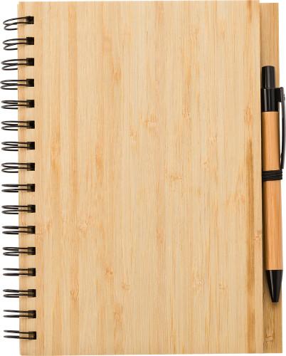 Anteckningsbok i bambu (A5)