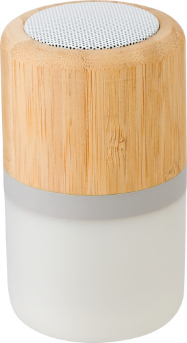 ABS and bamboo speaker