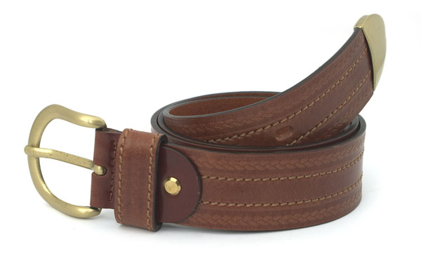 Fashion belt G (brown)
