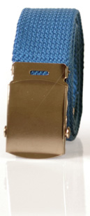Army belt 35 mm (blue)