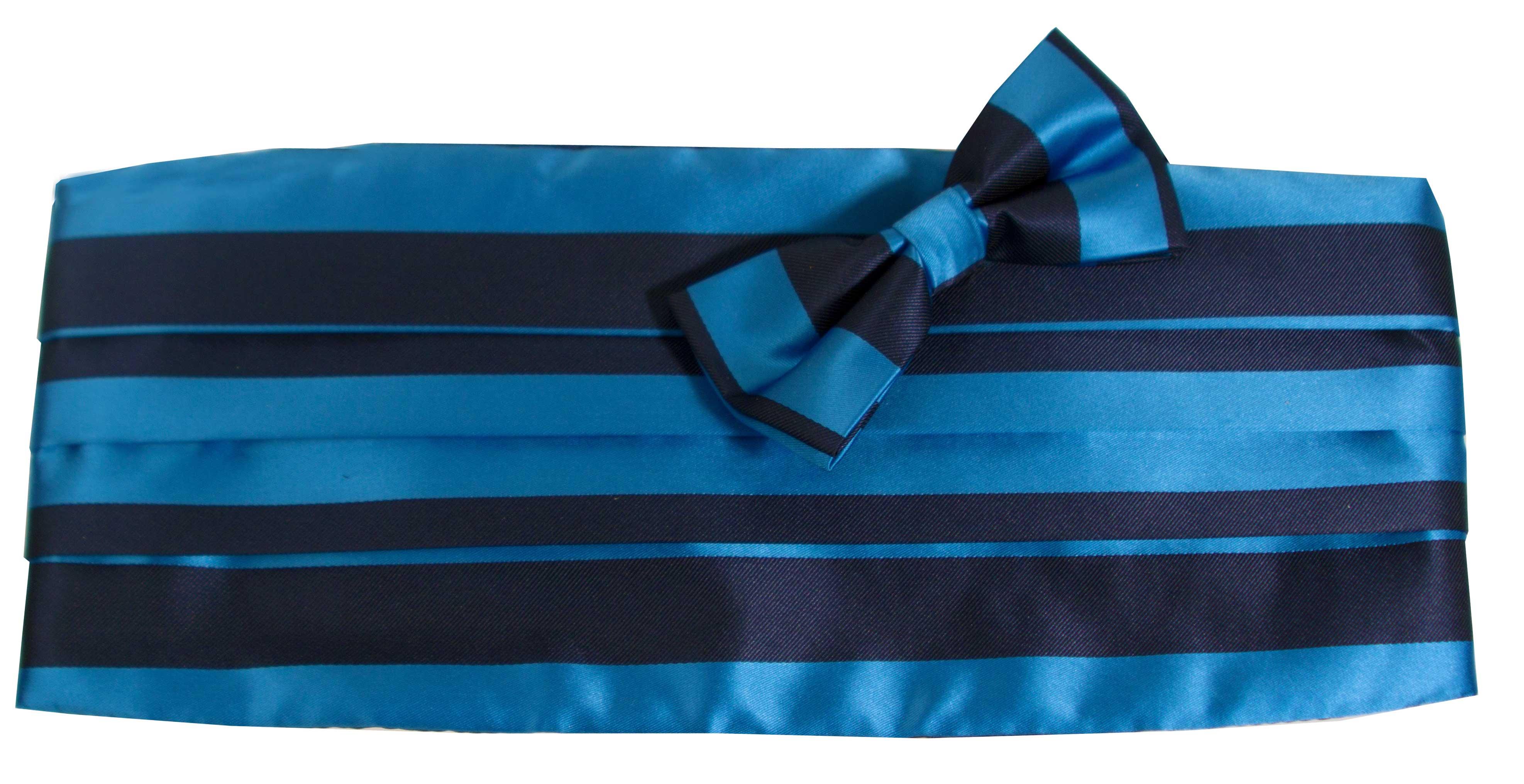 Gördel (blå och mörkblå)