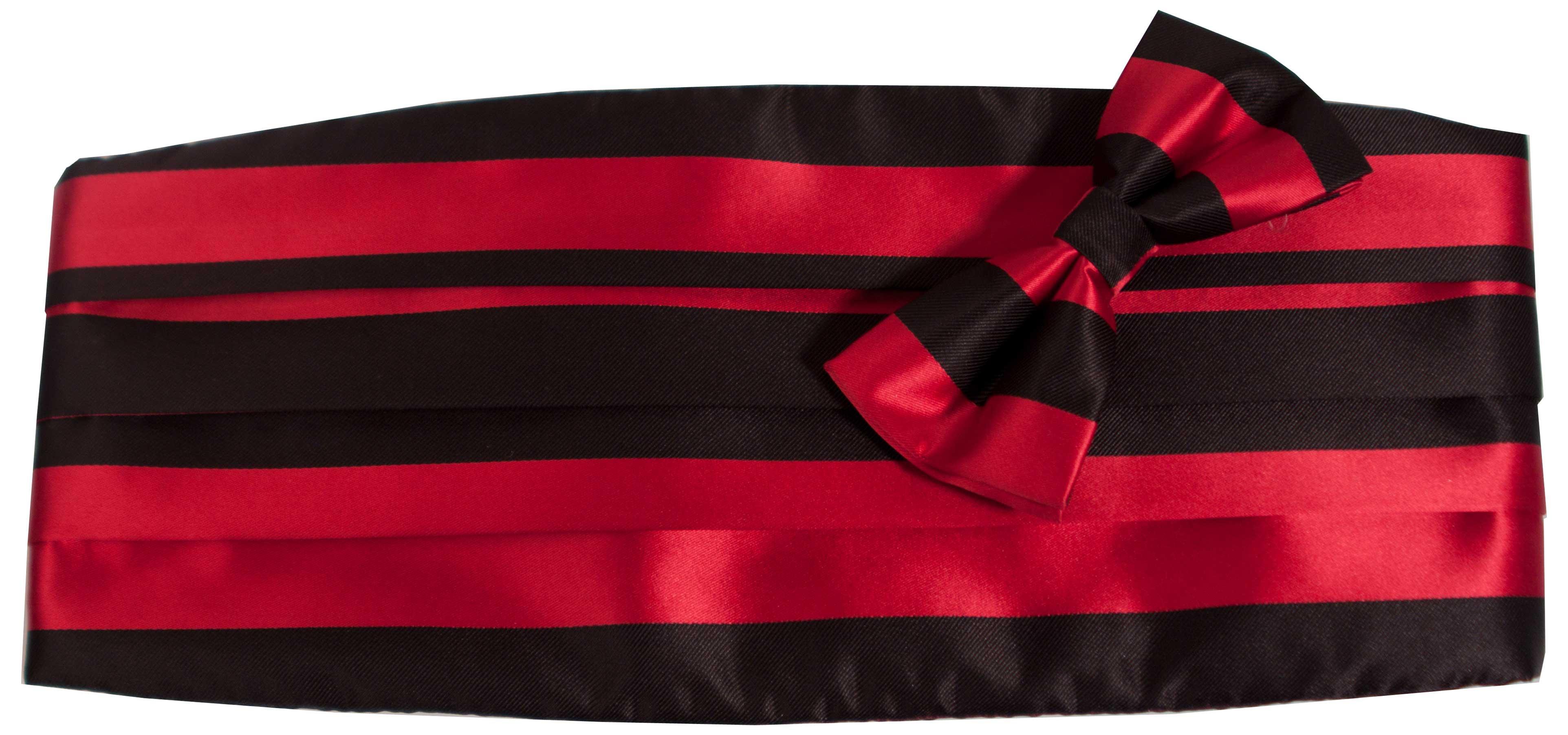 Gördel (svart och röd)