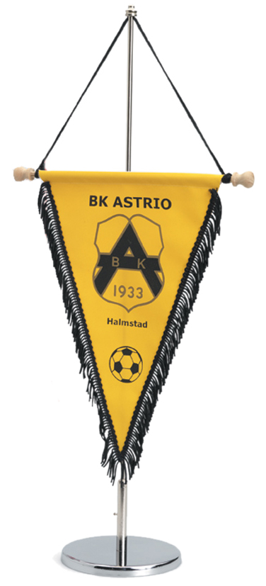 Supporter pennant (wooden top pole)