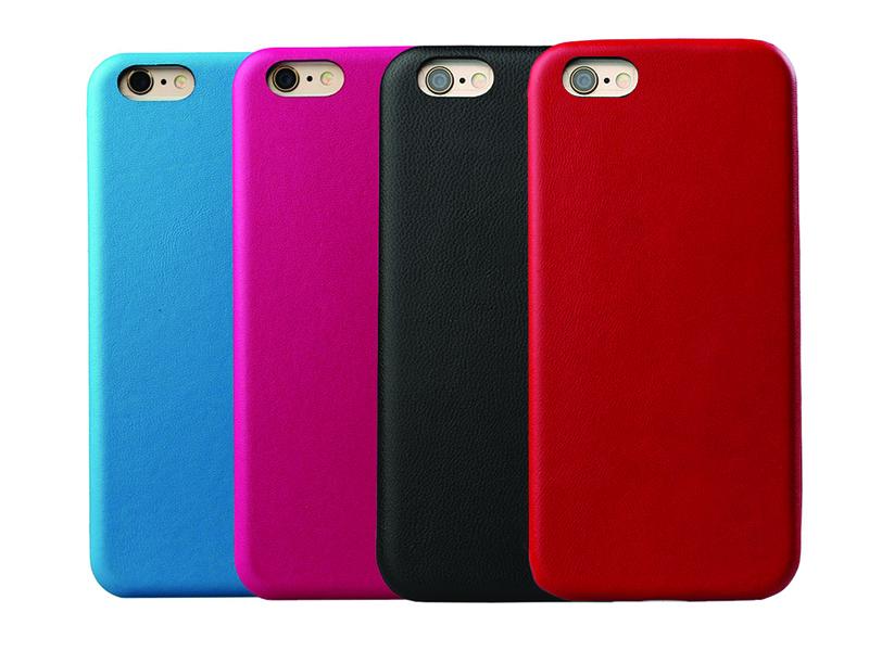 Mobilskal PU-läder (iPhone)