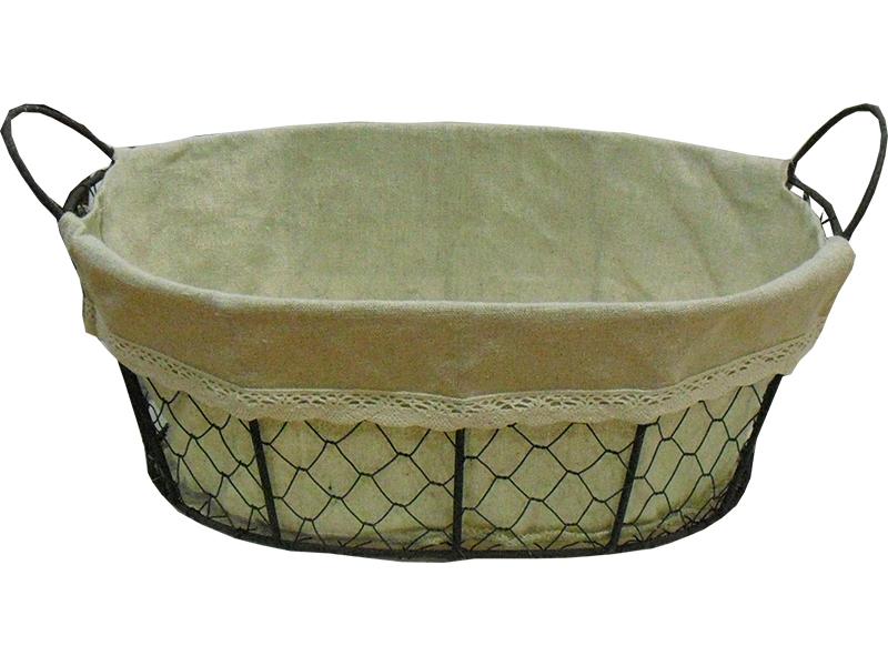 Metal basket Carina