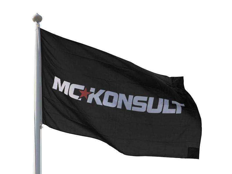 Screenprinted Flag (300 x 180 cm)