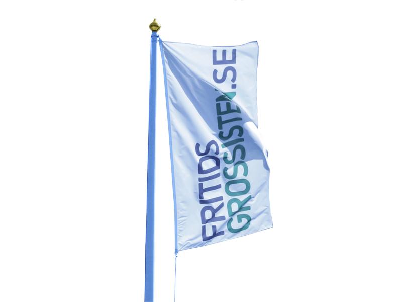 Screenprinted Flag (100 x 300 cm)