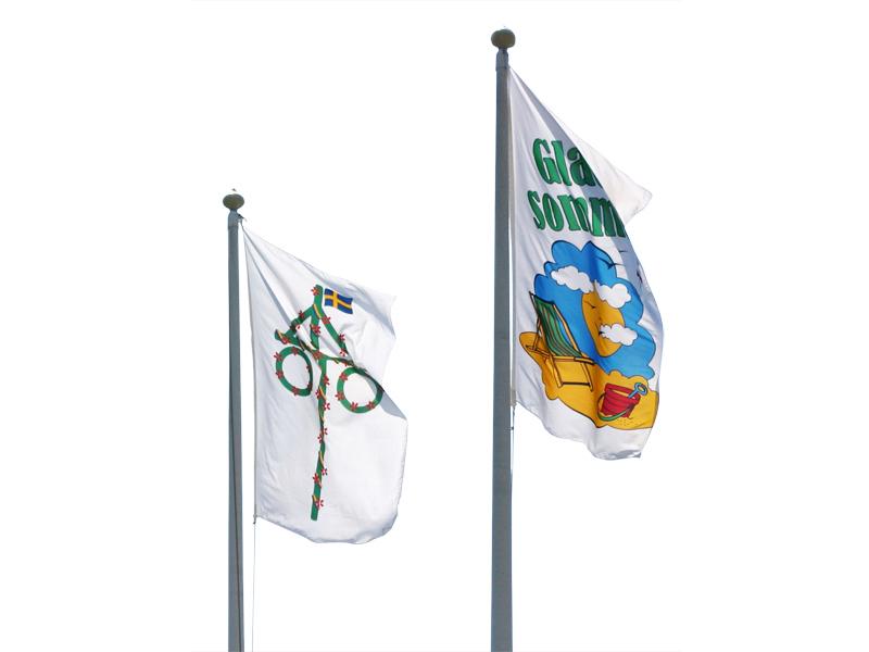 Digital printed flag (150 x 400 cm)