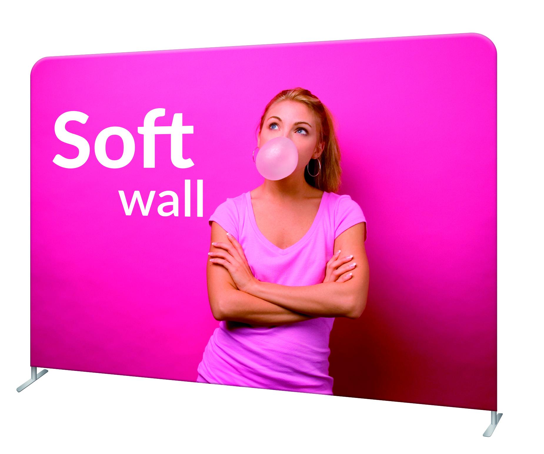Fabric Wall, Straight (244x228 cm)