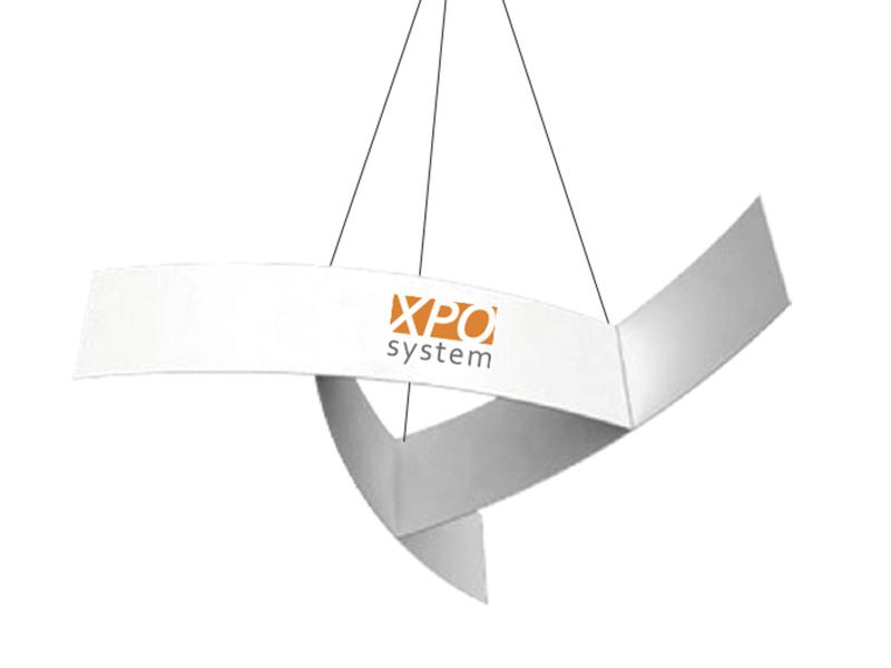 Pinnwheel ceiling banner (420 cm)