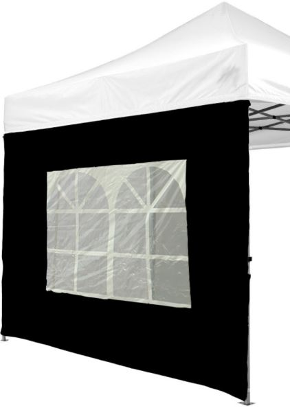 Window wall for 6 x 3 m tent