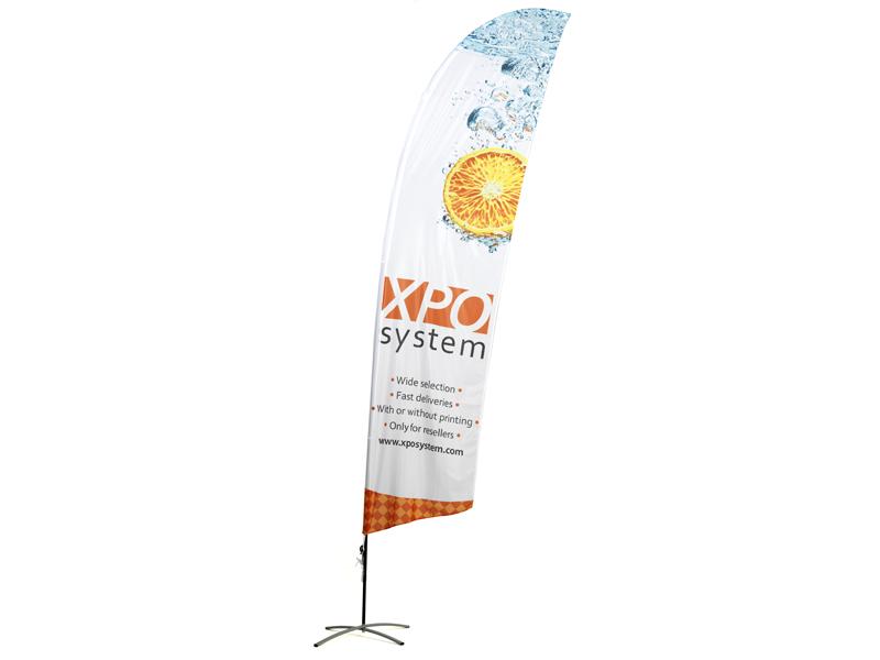 Beach flag angled (XS)