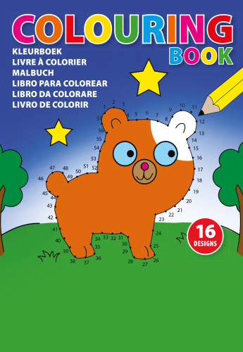 Målarbok för barn (A5)