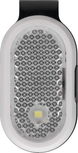 Reflexlampa i ABS med clip