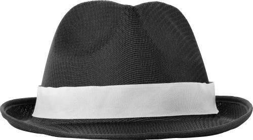 Polyester hat
