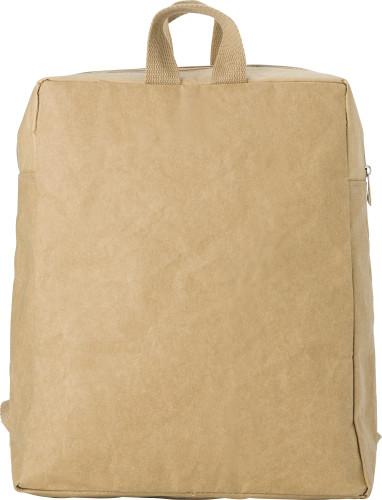 Laminated paper (310 gr/m²) backpack