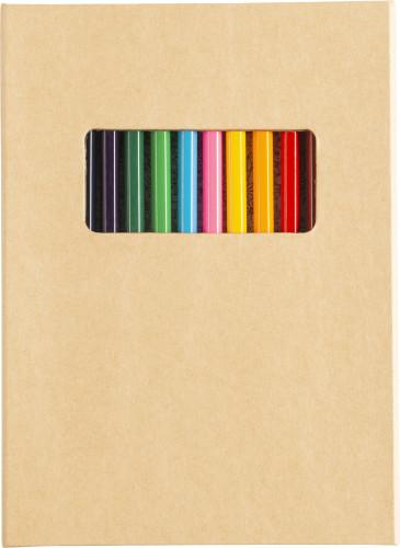 Folder i kartong för färgläggning