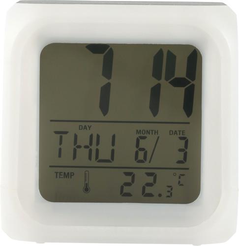 Alarmklocka i kubform