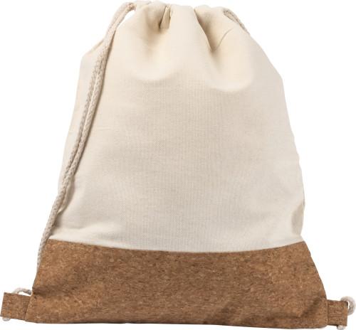 Cotton rucksack