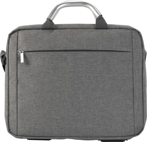 Konferens- och laptopväska i polycanvas (600D)