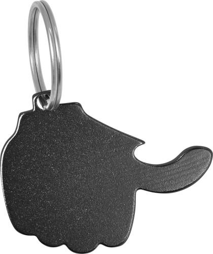 Aluminium 2-in-1 key holder