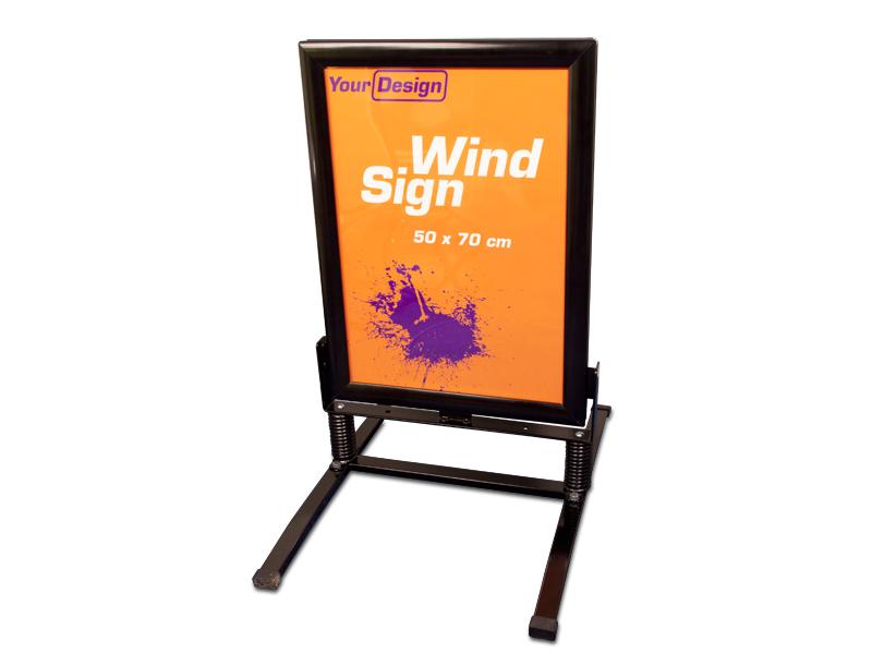 Sign Wind (70 x 100 cm)