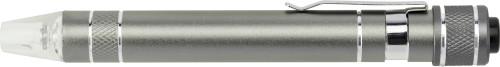 Aluminium pocket screwdriver