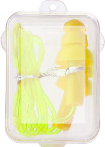 PP case with earplugs