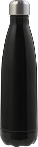 Flaska med dubbla väggar i rostfritt stål (500 ml)