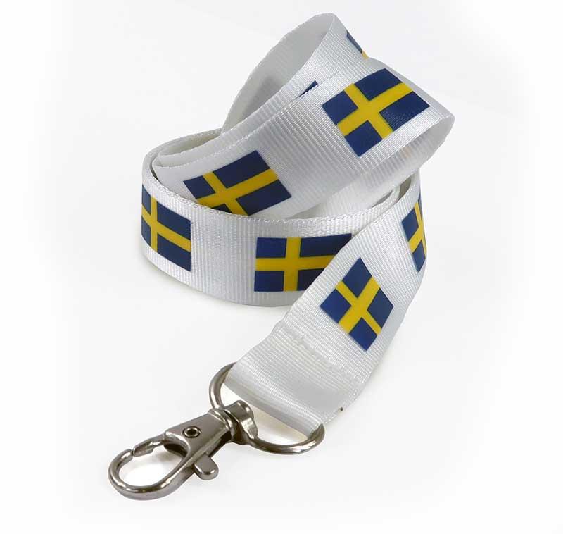 Logoband Sverige (Lagervara)