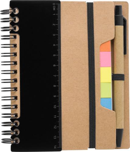 Anteckningsbok i återvunnet papper