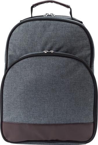 Polycanvas (600D) picnic cooler bag