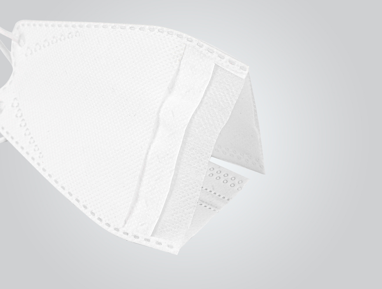 Filtering half mask FFP2 (flat)