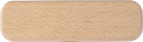 Beech wood writing set