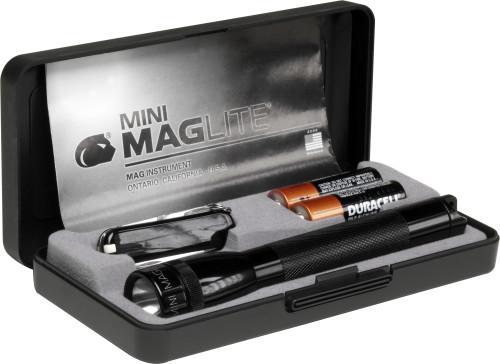 Aluminium torch Mag-lite mini with pocket knife Victorinox