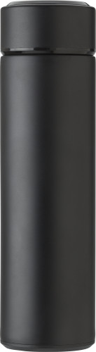 Stainless steel thermos bottle (450 ml) with LED display