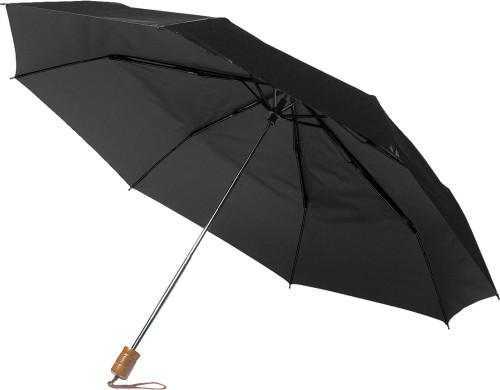 Hopvikbart paraply, manuell öppning