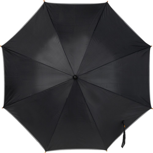 Paraply med reflexkant, automatisk öppning