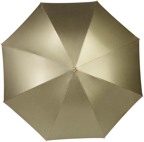 Paraply guld/silver, automatisk öppning