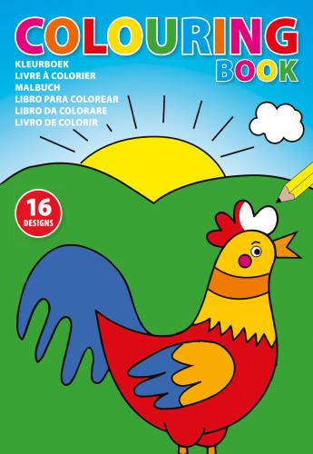 Målarbok för barn (A4)