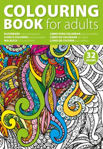 Målarbok för vuxna (A4)