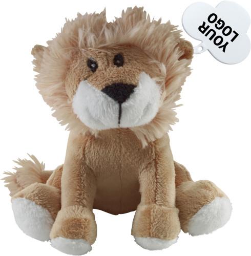 Plush lion
