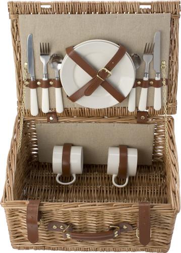 Picknick-korg för två