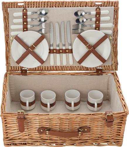 Picknick-korg för fyra