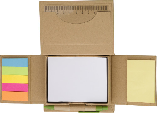Cardboard memo holder
