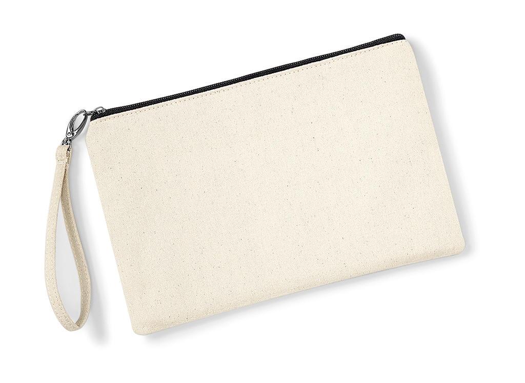 Canvas Wristlet Pouch