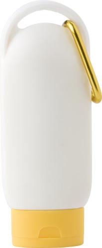 PE sunscreen lotion bottle