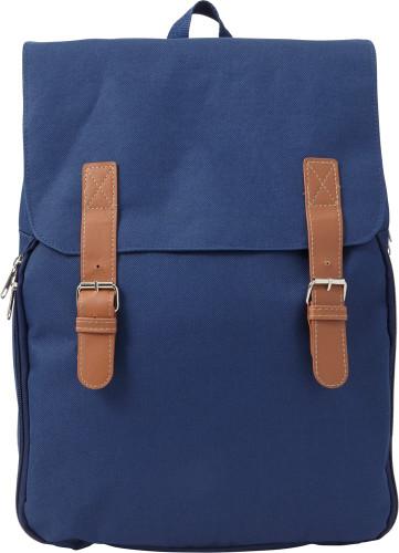 Picknick-ryggsäck med kylfack, i polyester (600D)