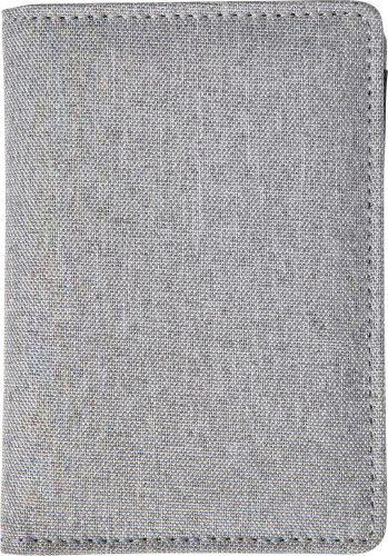 Polyester credit card holder